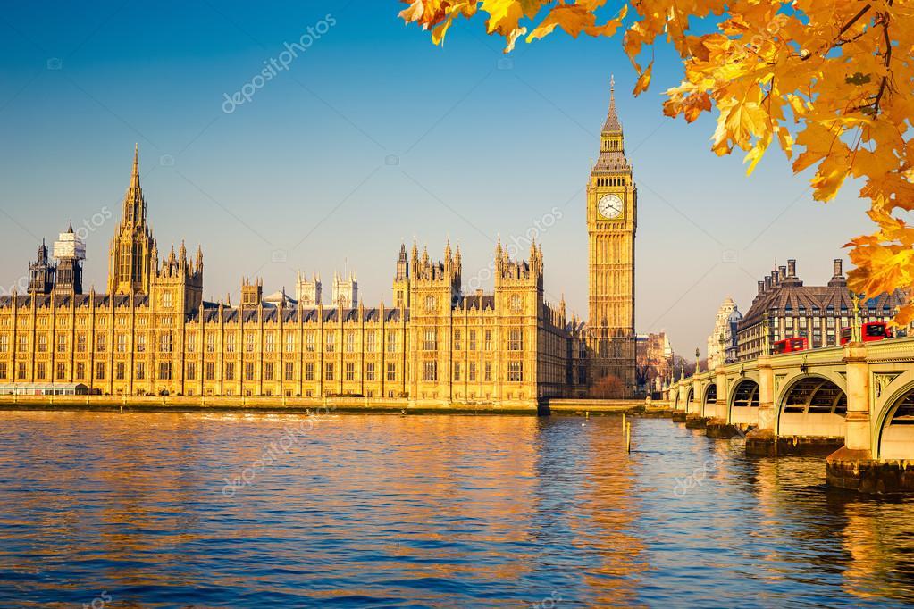 El big ben y casas del parlamento londres foto de stock for Foto del parlamento