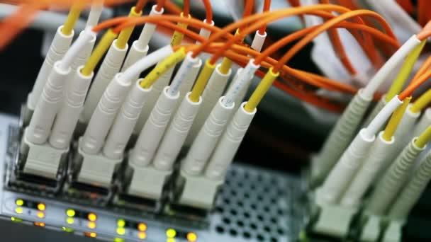Netzwerk-Kabel und hub.