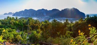 Sunset at Phi Phi Don Island