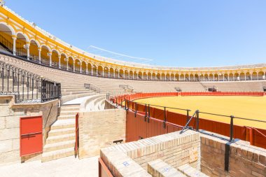 bullfight arena stadium in Sevilla