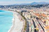 schöne Aussicht auf die Cote d Azur