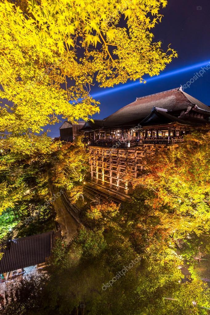 Beautiful view of Kiyomizu-dera