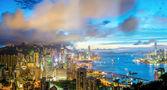 légi panoráma hong kong