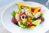 Fotografie Greek Seafood Salad