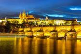 Menší mostecká věž v Praze