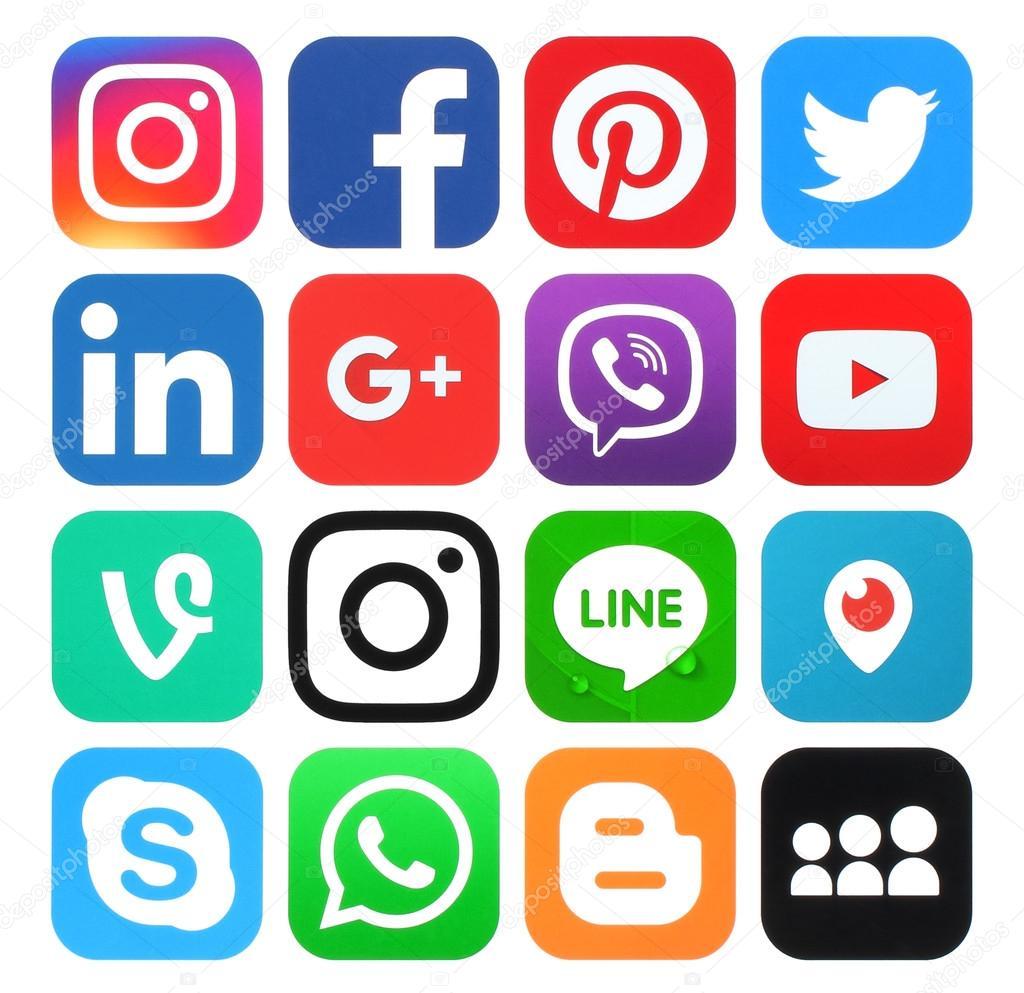 Imágenes: logos redes sociales | Colección de logos de ...