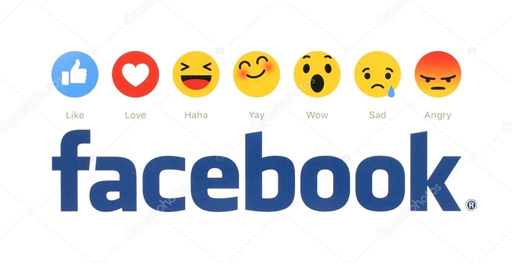 New Facebook Like Button 6 Empathetic Emoji Reactions Printed On White Paper Facebook Is A Well Known Social Networking Service Stock Editorial Photo C Rozelt 99695620 The public love news stories about emojis, and we're ready to give interviews. https depositphotos com 99695620 stock photo new facebook like button 6 html