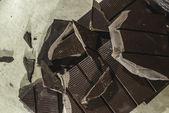 Fotografia Barra di cioccolato tritato