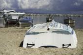 Fotografie Fishing boats in Greece