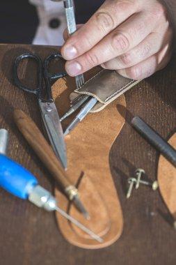 shoemaker making shoes manual