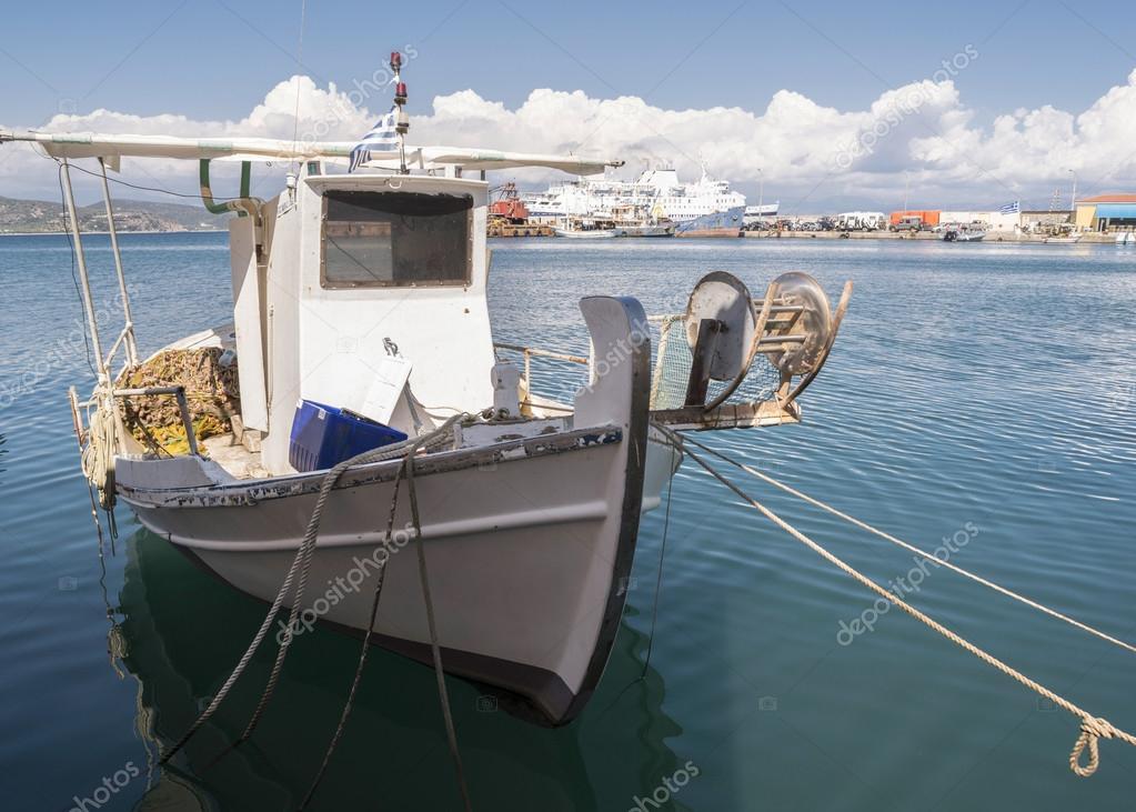 Fishing boats in Greece