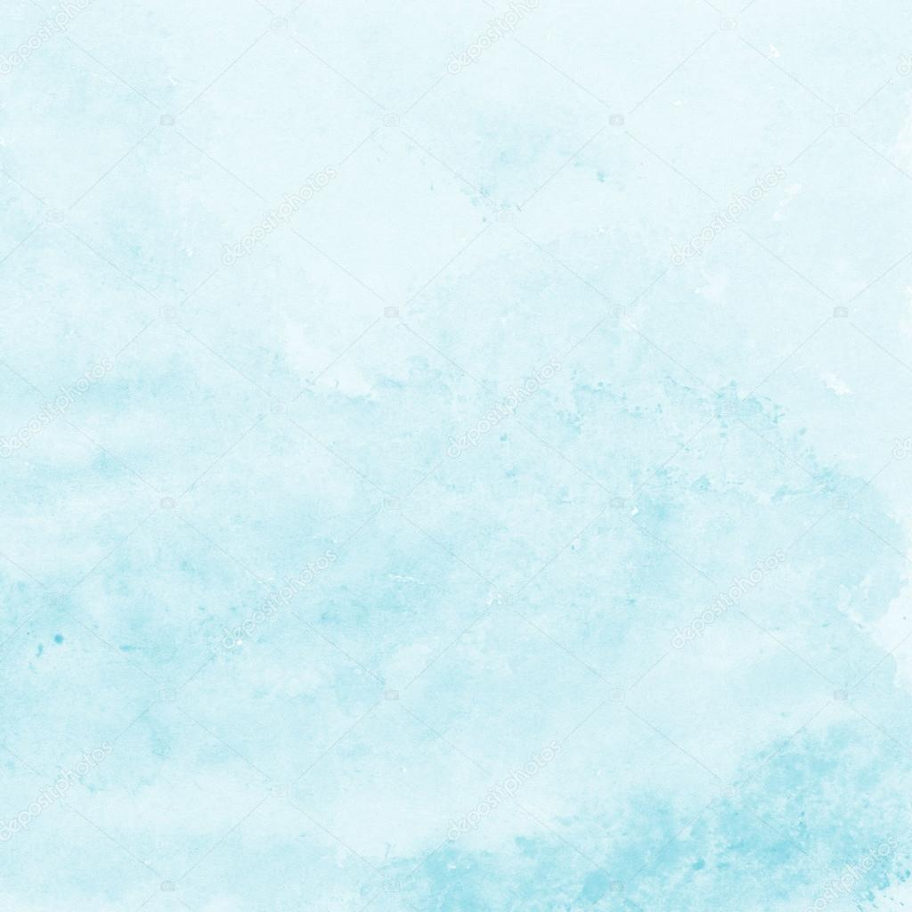soft blue watercolor texture background hand painted