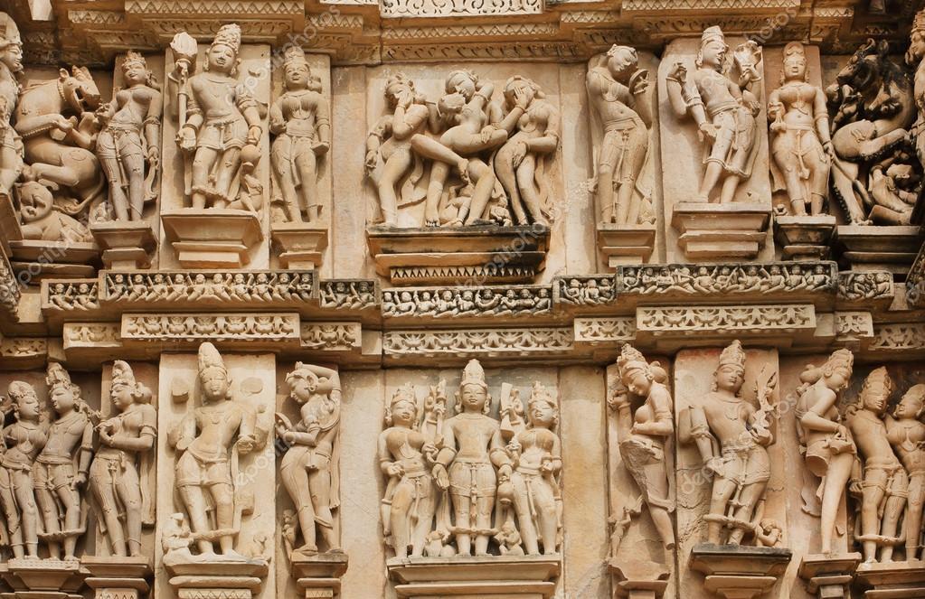 Индийский сексуальный храм видео