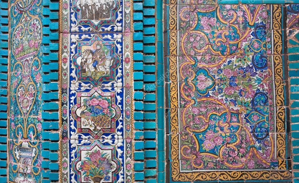 Carrelage Ancien De Mosquée En Iran Photographie Radiokafka - Carrelage ancien