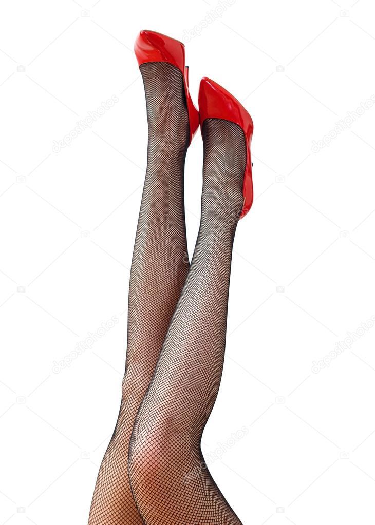 Sexy piedi femminili nere