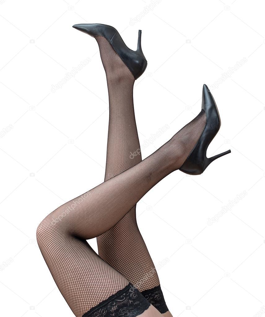schwarze Frauen mit sexy Beinen
