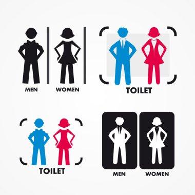 Women's and Men's Toilets