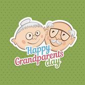 Fotografie Grüße an Großelterntag