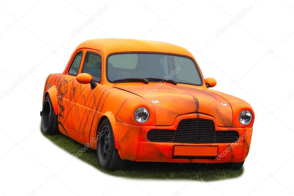 Zephyr. Vieille voiture américaine . — Photo éditoriale © OlegMirabo #102570474