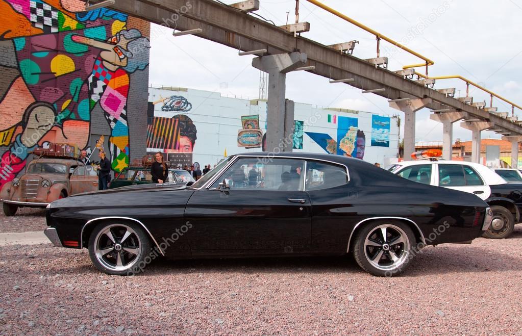 amerikanische muscle-car — redaktionelles stockfoto © olegmirabo