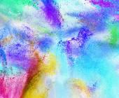 Pozadí abstraktní barevný prášek