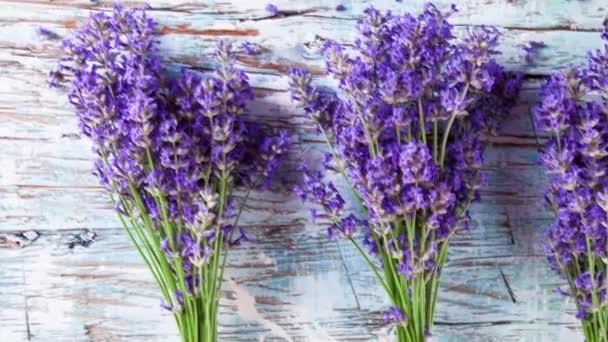 Lavender on wood