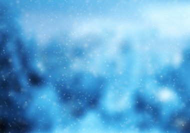 Blur abstract winter background