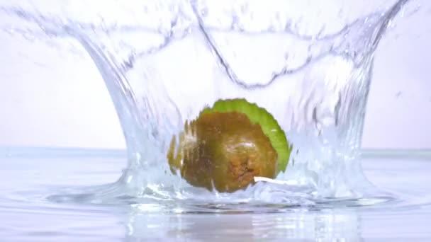 Kiwi v pomalém pohybu