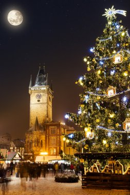 Christmas marketplace in Oldtown square, Prague
