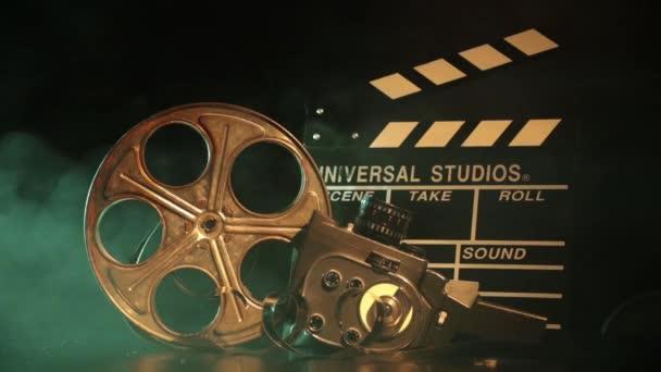 Retro film gyártási tartozékok csendélet