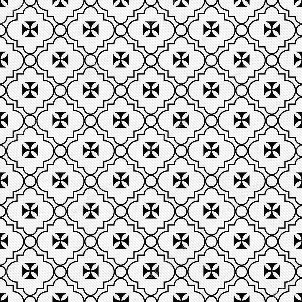 Black and white maltese cross symbol tile pattern repeat backgro black and white maltese cross symbol tile pattern repeat backgro stock photo biocorpaavc
