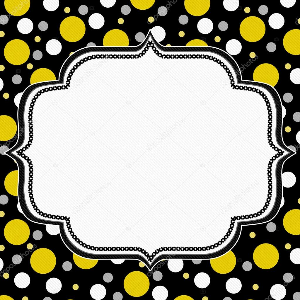 Yellow, White and Blac...