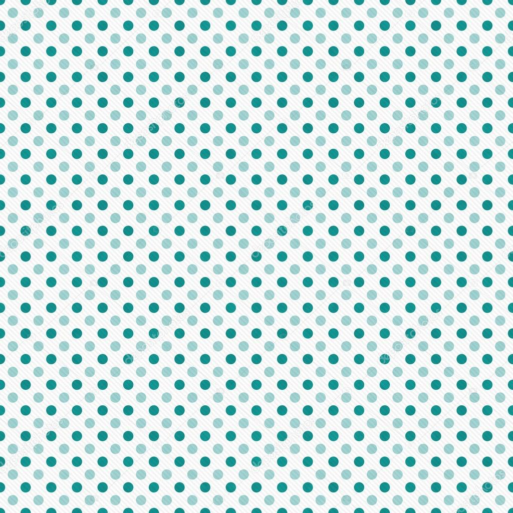 Teal and White Polka Dot Abstract Design Tile Pattern Repeat Ba ...