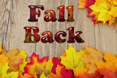 Fall Back with Fall Leaves