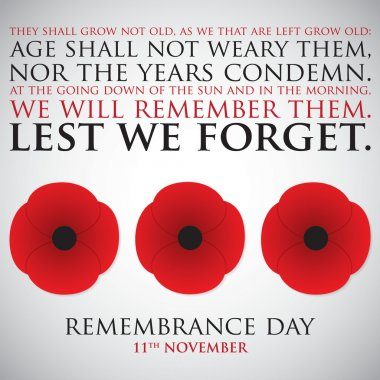 Remembrance Day card