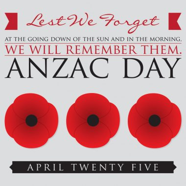 ANZAC (Australia New Zealand Army Corps) Day