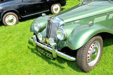 MG vintage car