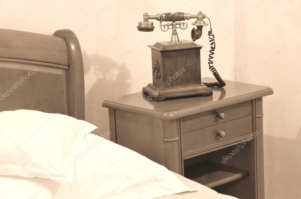 Vintage hálószoba — Stock Fotó © lucianmilasan #81237994
