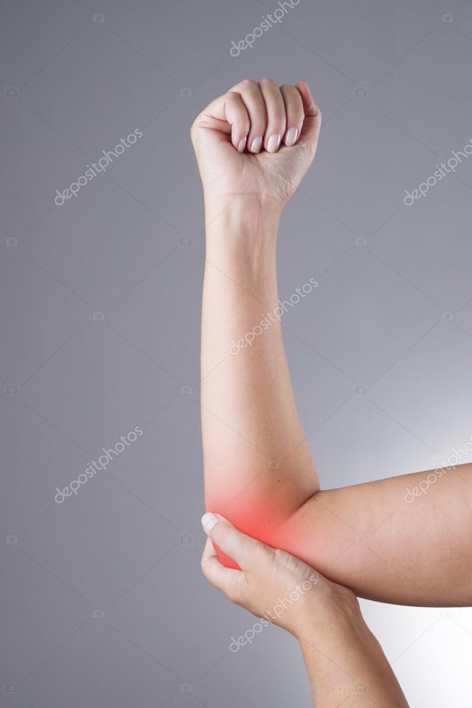 Schmerzen in den Gelenken der Hände. Pflege von Frauenhänden ...