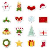 Photo Christmas stickers