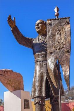 Hidalgo Statue Liberty Road Sanctuary of Jesus Atotonilco Mexico