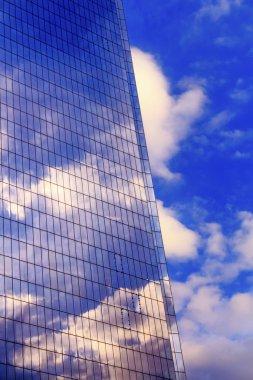 New World Trade Center Abstact Glass Building Skyscraper Reflect