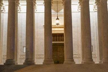 US Supreme Court Columns DoorWashington DC