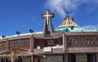 New Basilica Shrine of Guadalupe Christmas Creche Mexico City Me