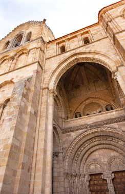 Avila Cathedral Door Castile Spain