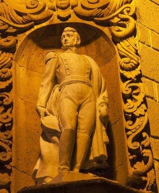 Ignacio Allende Statue San Miguel de Allende Mexico