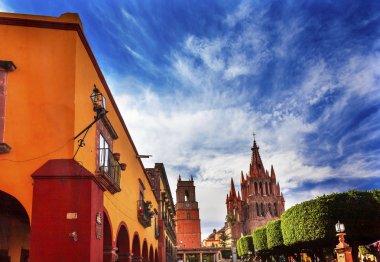 Jardin Parroquia Archangel Church Street San Miguel Mexico