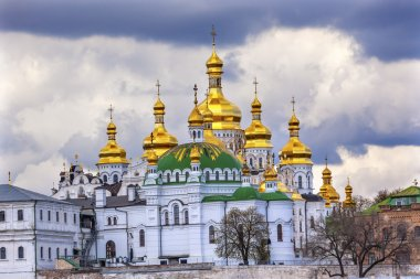 Uspenskiy Cathedral Holy Assumption Pechrsk Lavra Cathedral Kiev