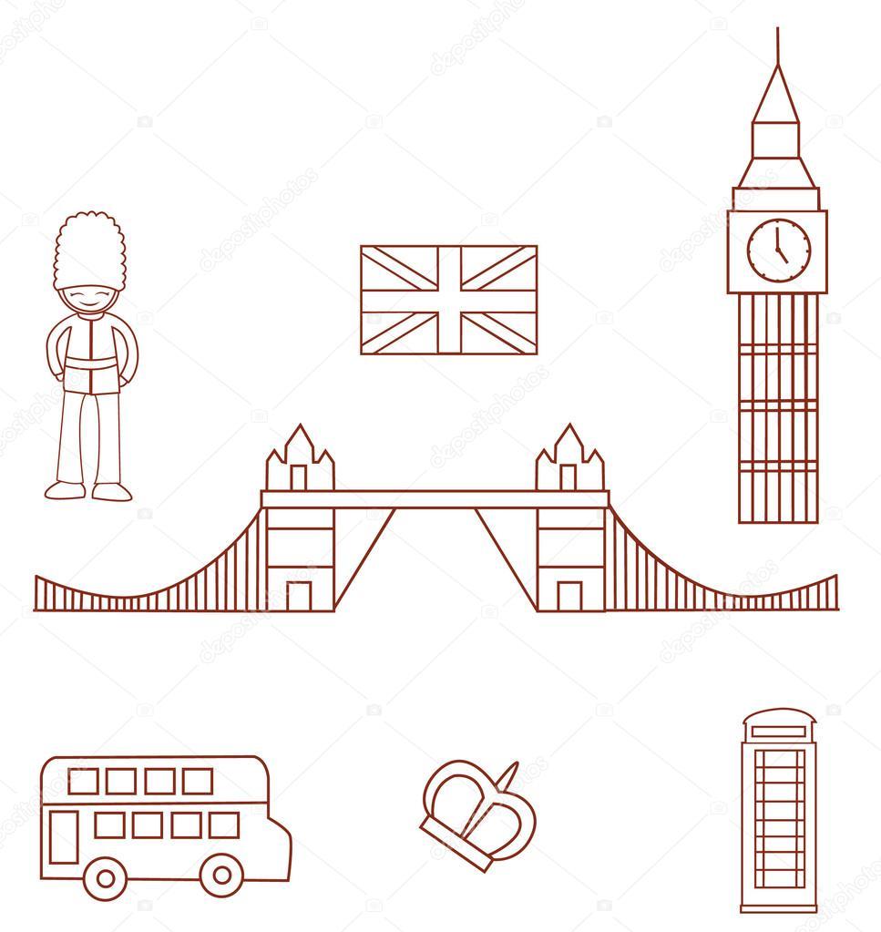Inglaterra Bandera Para Colorear Inglaterra Turismo Objeto