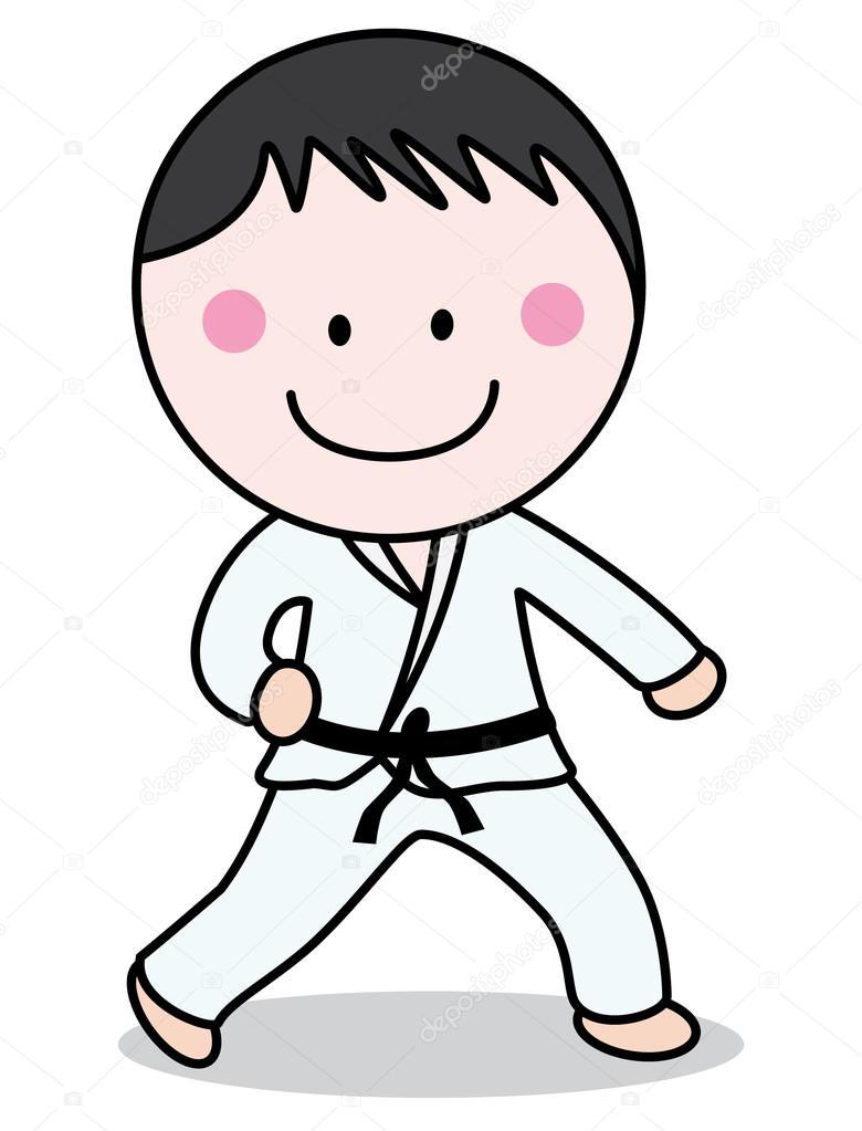 karateka — Archivo Imágenes Vectoriales © redrockerz99 #82302168